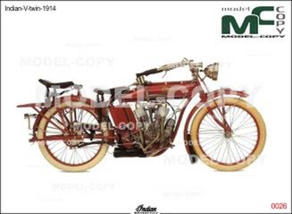 Indian-V-twin-1914 - drawing