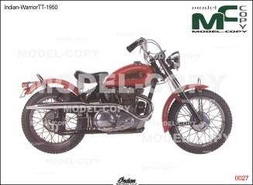 Indian-WarriorTT-1950 - drawing