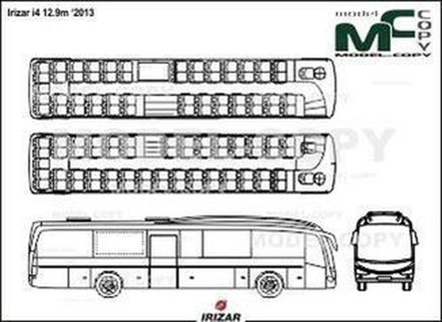 Irizar i4 12.9m '2013 - drawing