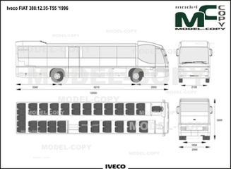 Iveco FIAT 380.12.35-T55 '1996 - drawing