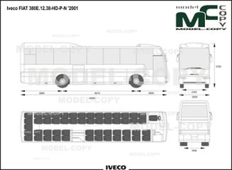 Iveco FIAT 380E.12.38-HD-P-N '2001 - drawing