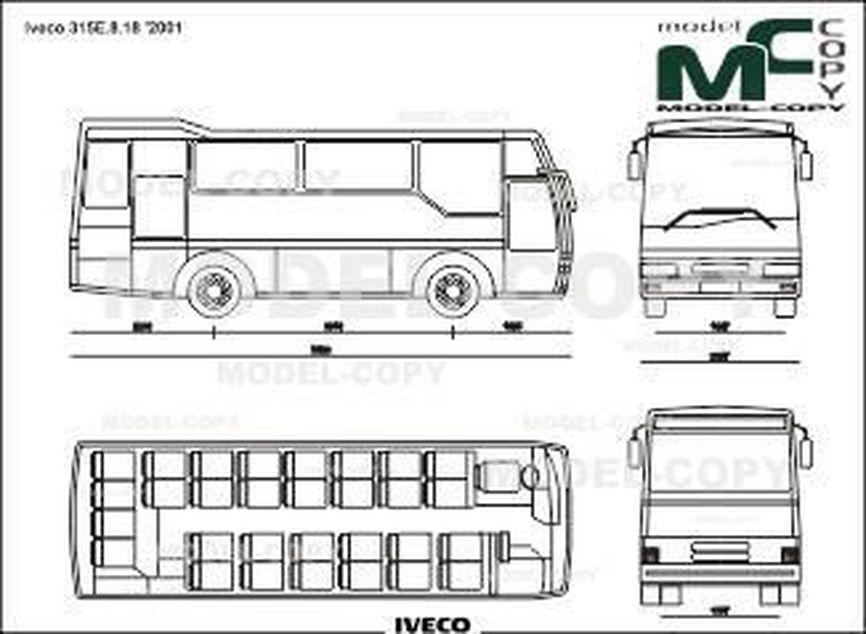 Iveco 315E.8.18 '2001 - drawing