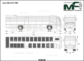 Iveco 380.12.35 '1996 - drawing