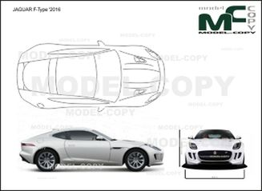 JAGUAR F-Type '2016 - drawing