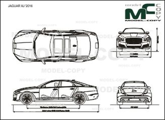 JAGUAR XJ '2016 - drawing