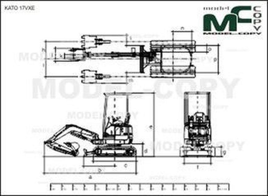 KATO 17VXE - 2D drawing (blueprints)