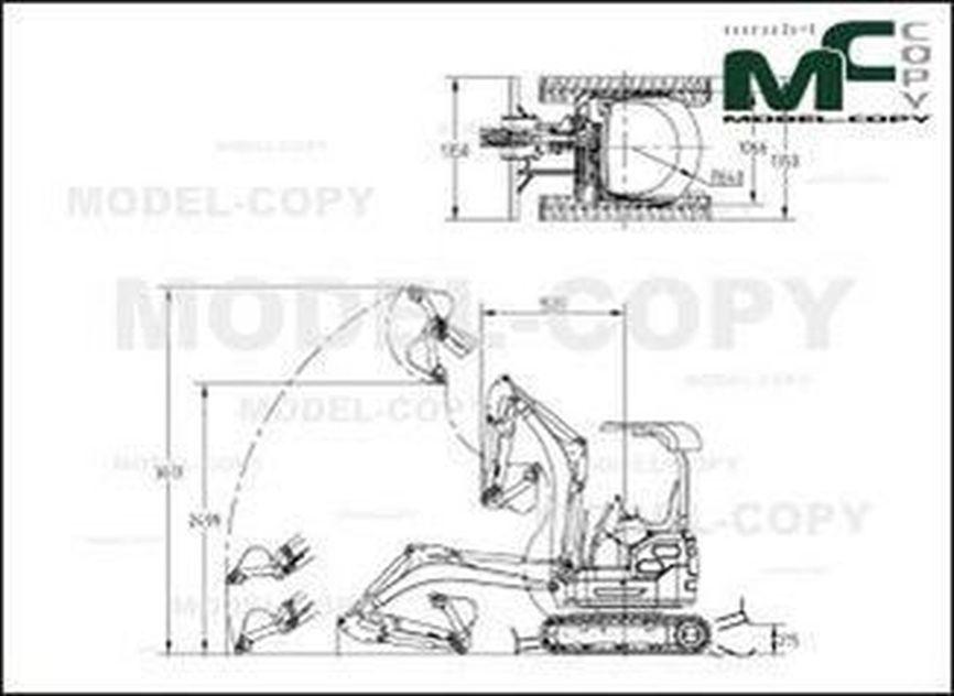 KIPOR KDG 15 - drawing