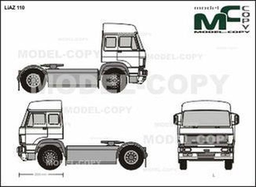 Liaz 110 Drawing 40882 Model Copy