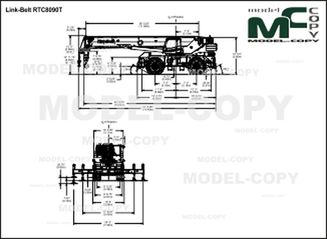 Link-Belt RTC8090T - drawing