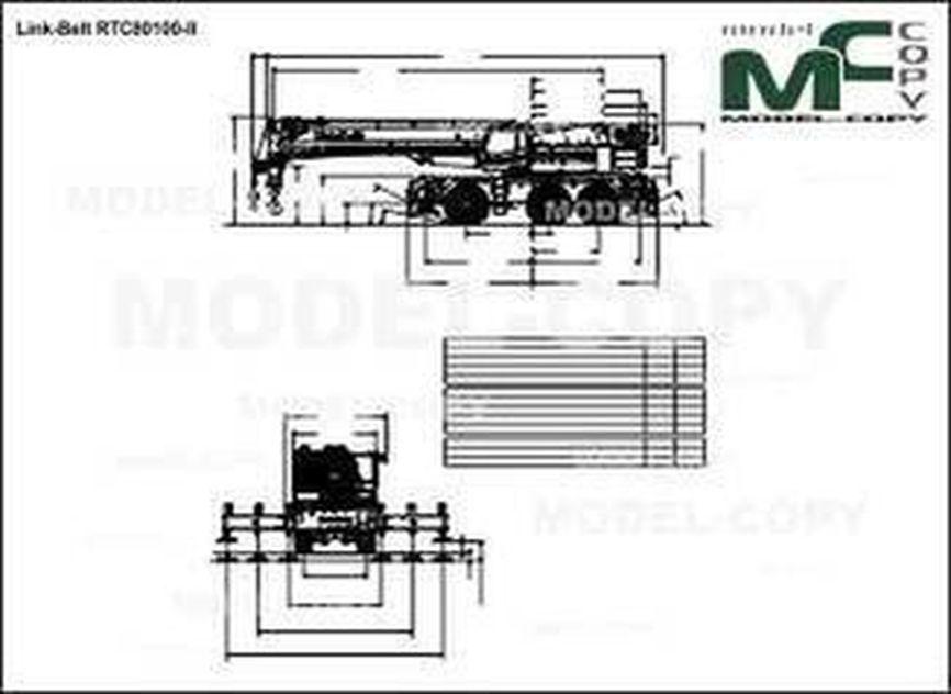 Link-Belt RTC80100-II - drawing