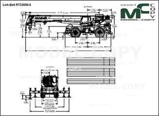 Link-Belt RTC8080-II - drawing