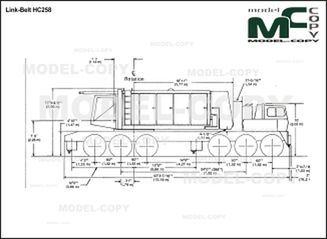Link-Belt HC258 - drawing