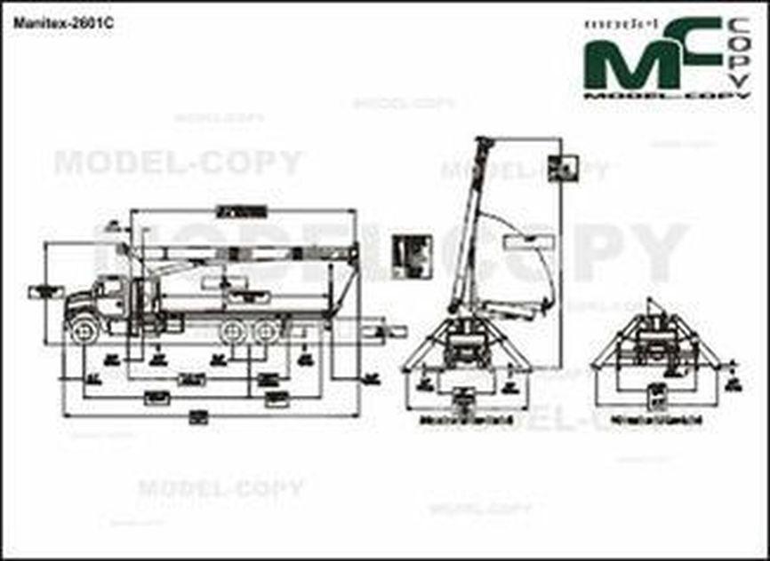 Manitex-2601C - drawing