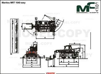 Manitou MRT 1640 easy - drawing