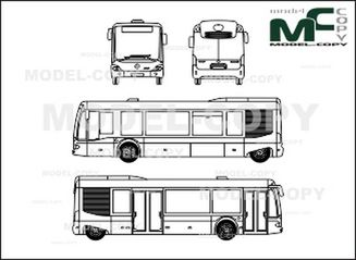Mercedes-Benz Cito 10 m - drawing