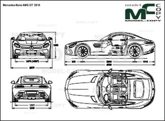 mercedes amg drawing