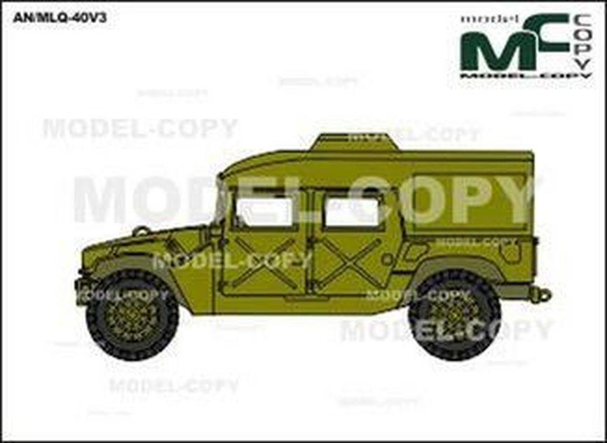 AN/MLQ-40V3 - drawing