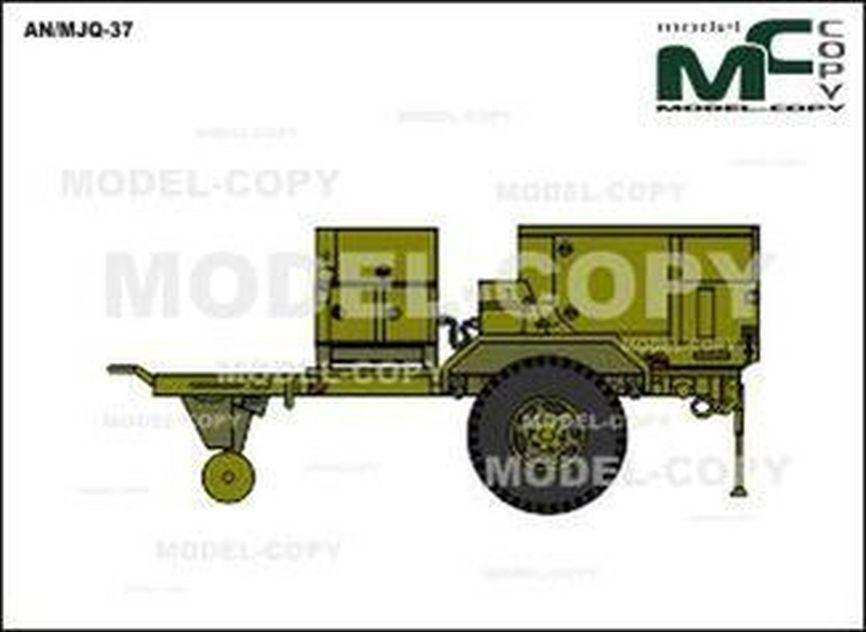 AN/MJQ-37 - 2D tekening