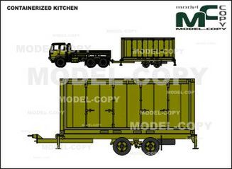 CONTAINERIZED KITCHEN - 2D tekening