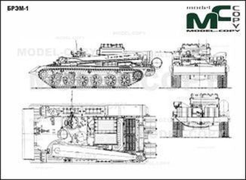 BREM-1 - 2D tekening