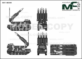 9K317 - M2E BUK - drawing