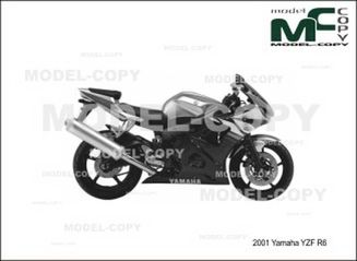 Groovy Yamaha Yzf R6 2001 Tekening 22741 Model Copy Gmtry Best Dining Table And Chair Ideas Images Gmtryco