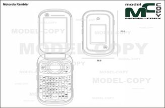 Motorola Rambler - drawing
