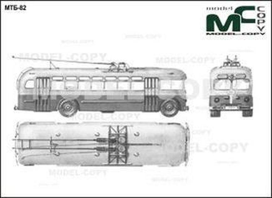 MTB-82 - 2D drawing (blueprints)