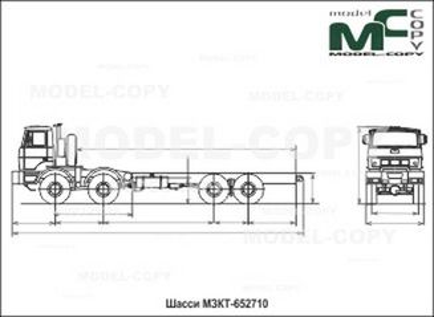 MZKT-652710 - 2D drawing (blueprints)
