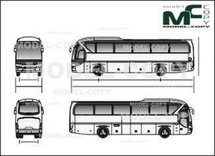 Neoplan Tourliner '2013 - drawing