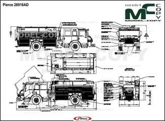Pierce 26916AD - 2D drawing (blueprints)