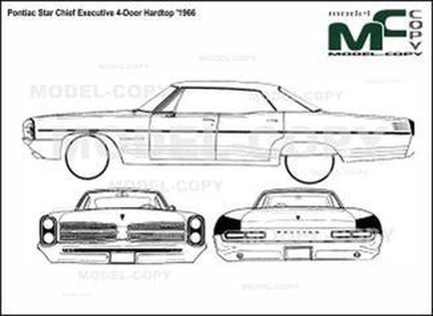 Pontiac Star Chief Executive 4 Door Hardtop 1966