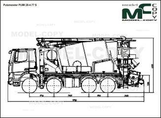 Putzmeister PUMI 28-4.77 S - 2D drawing (blueprints)