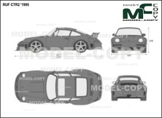 RUF CTR2 '1995 - 2D drawing (blueprints)