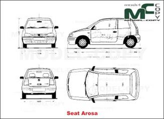 seat arosa - drawing - 19910