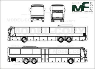 Setra S 319 UL - drawing