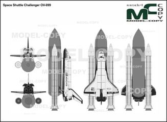 Space Shuttle Challenger OV-099 - drawing