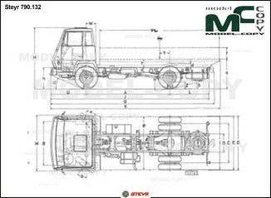 Steyr 790.132 - drawing