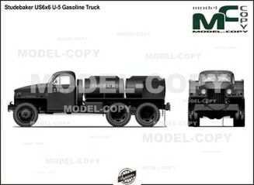 Studebaker US6x6 U-5 Gasoline Truck - drawing