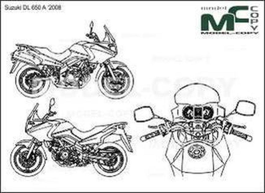 Suzuki DL 650 A '2008 - drawing