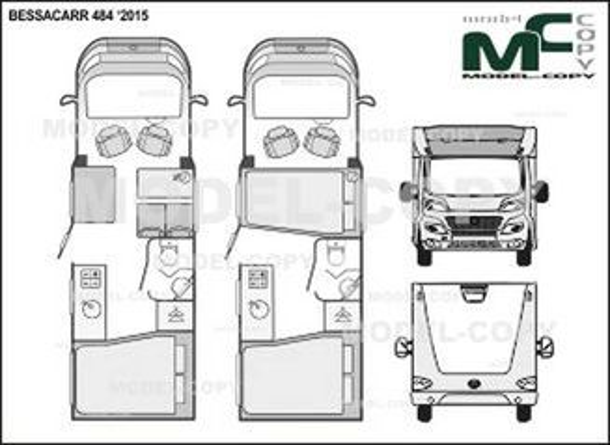 BESSACARR 484 '2015 - 2D drawing (blueprints)