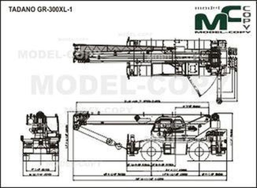 TADANO GR-300XL-1 - drawing