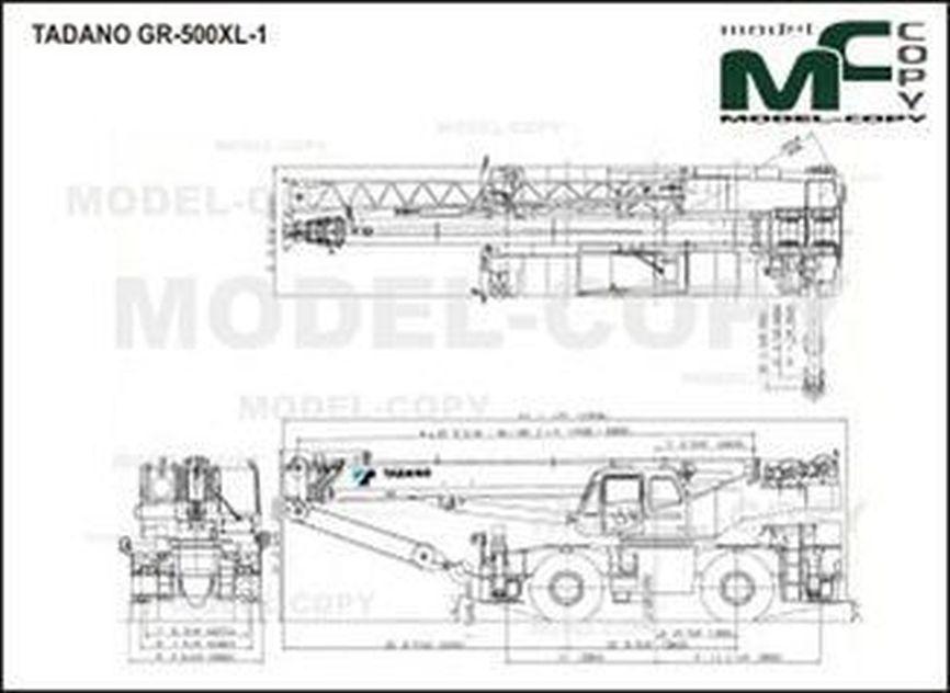 TADANO GR-500XL-1 - drawing