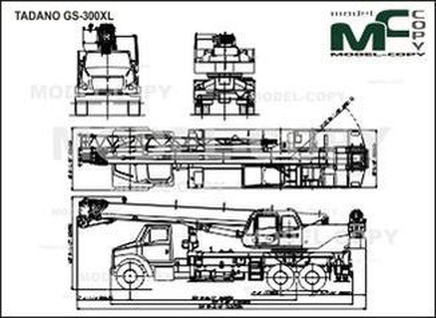 TADANO GS-300XL - drawing
