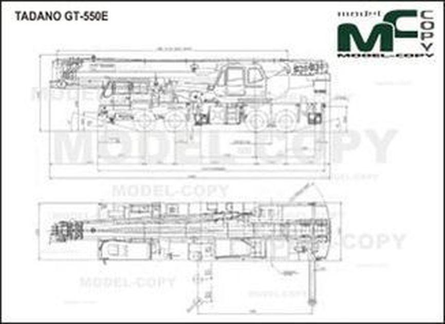TADANO GT-550E - drawing