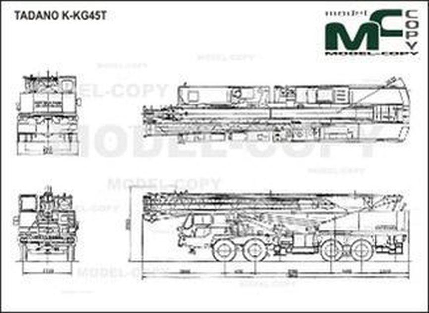 TADANO K-KG45T - drawing