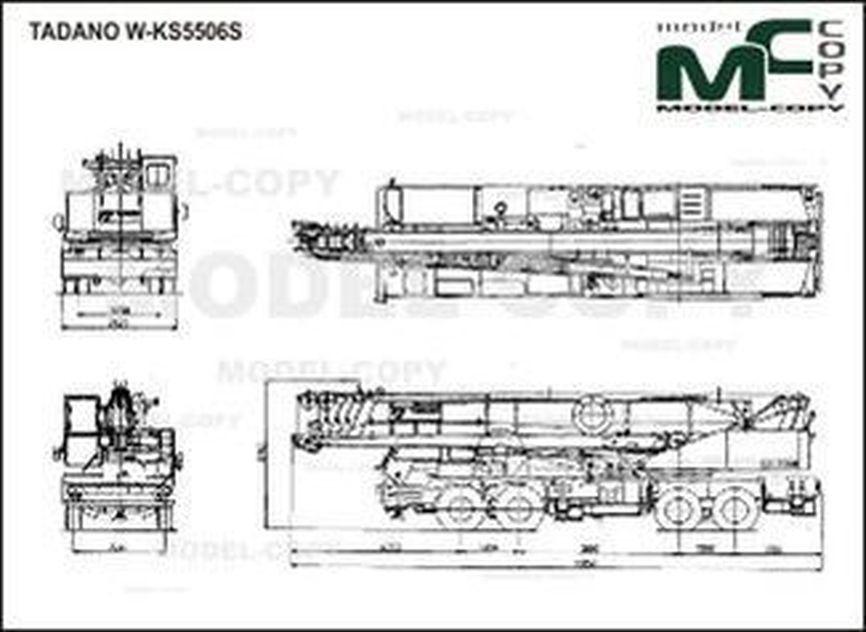 TADANO W-KS5506S - drawing