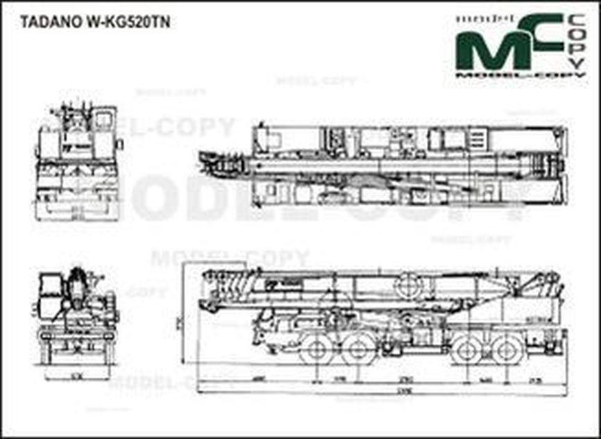 TADANO W-KG520TN - drawing
