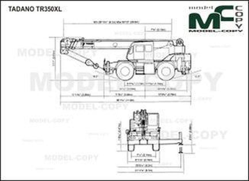 TADANO TR350XL - drawing