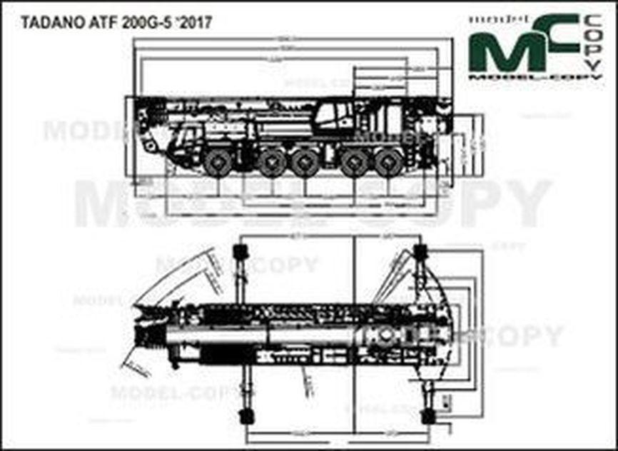 TADANO ATF 200G-5 '2017 - drawing